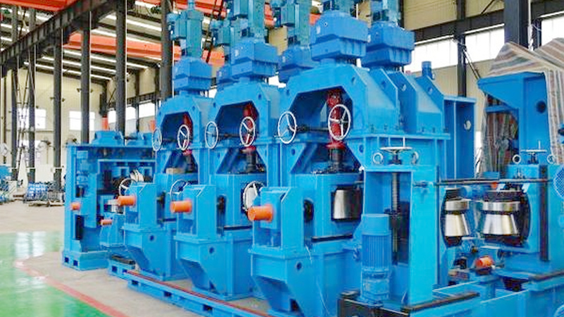 Direct Square Tube Mill Line