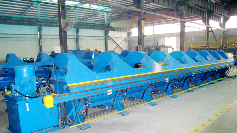Hydraulic Sheet Metal Folder
