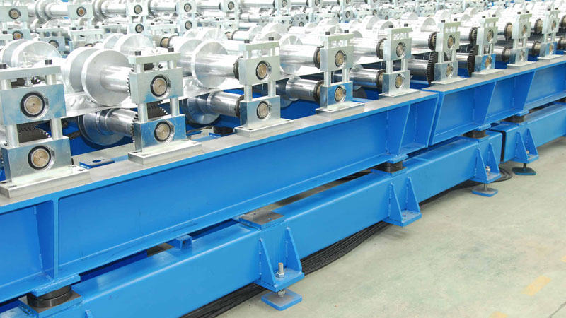 CASSETTE Quick Changeover Roll Forming Machine