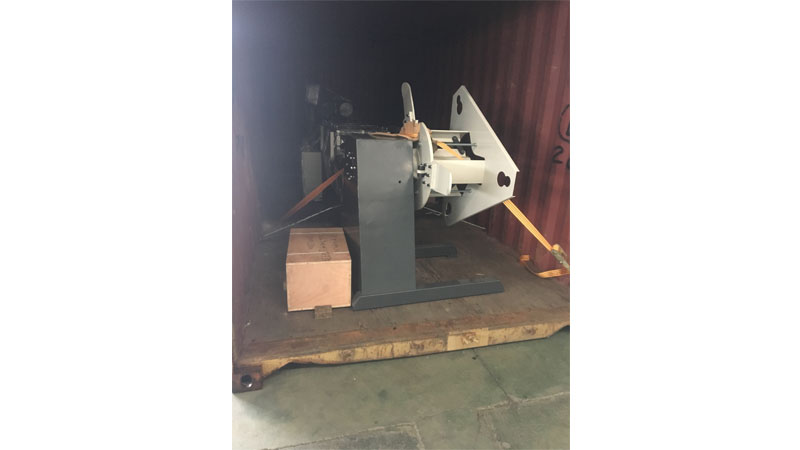 Single Side Manual Decoiler